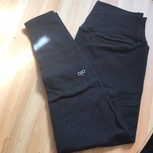 Alo yoga small black 7/8 leggings